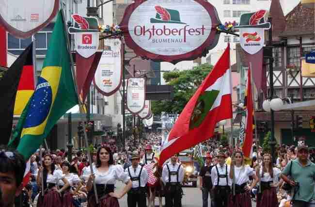 As melhores Oktoberfests do Brasil