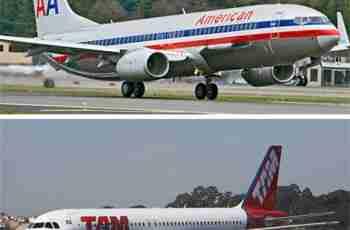 TAM e American Airlines firmam parceria de compartilhamento