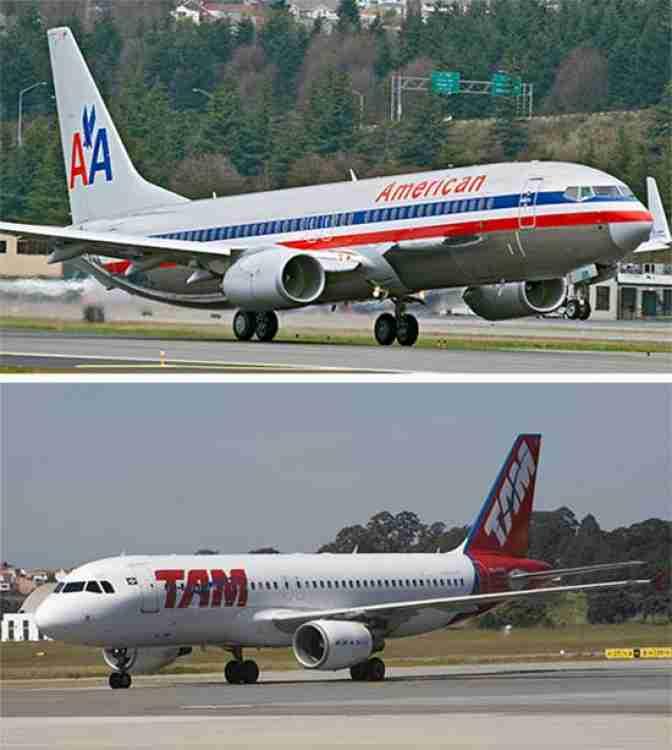 Tam E American Airlines Firmam Parceria De
